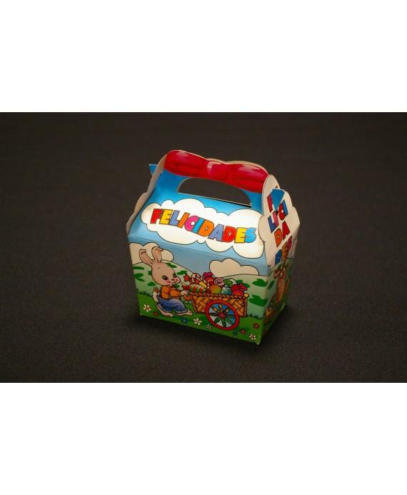 """Cajas Cumpleaños Infantiles """"Conejito"""""""